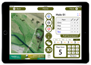 Hole Page Banner - GPS Golf Computer
